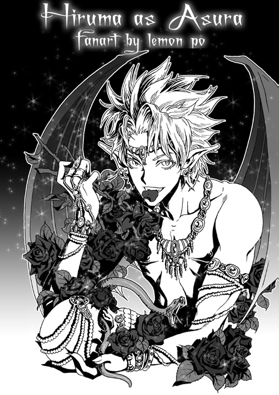 Hiruma as Asura by LemonPo