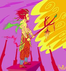 Shamanas by haris-san