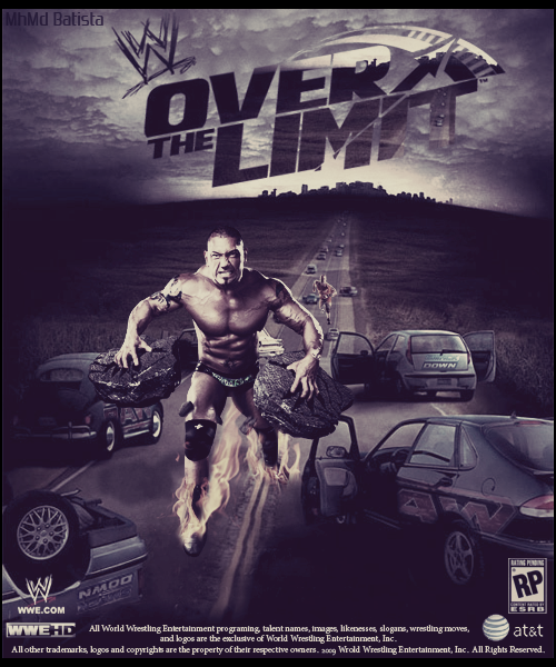 WWE ~ Over The Limit Poster 2010 by MhMd-Batista