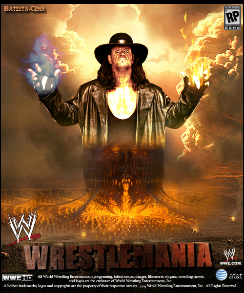 WWE ~ WrestleMania 25 ~ Poster by MhMd-Batista