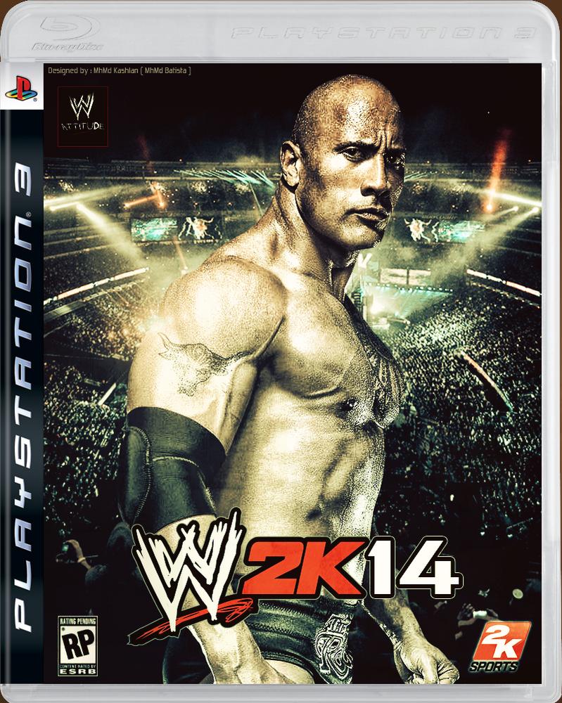 Wwe 2k14 Batista WWE 2K14 Cover ~ 2nd e...