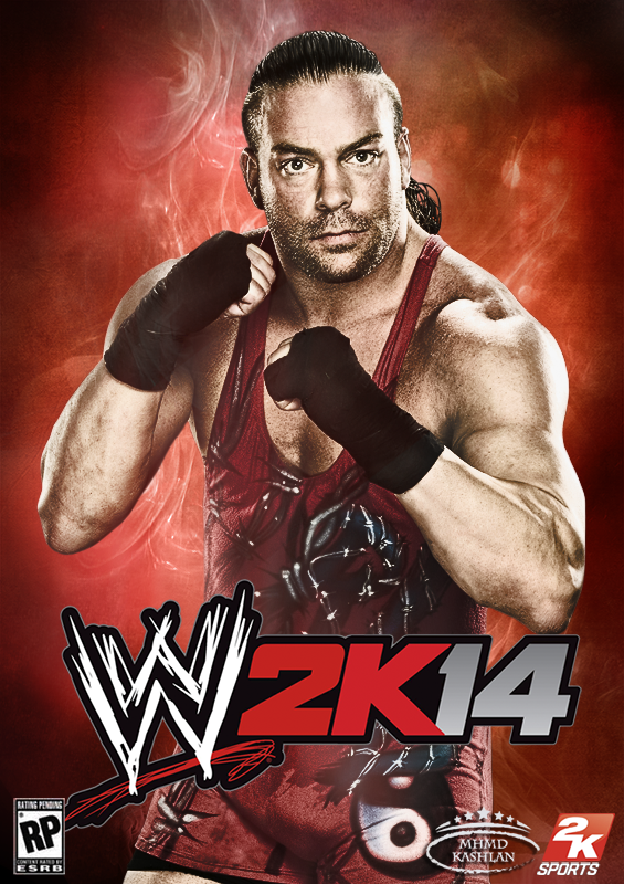 Wwe 2k14 Batista WWE 2K14 Cover feat RV...