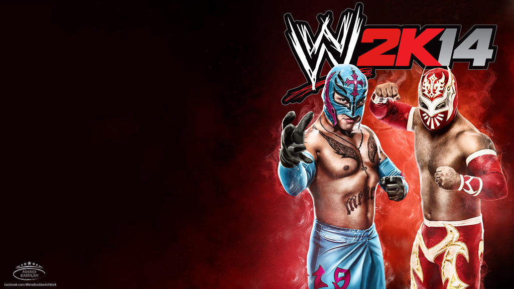 Rey Mysterio and Sin Cara ~ WWE 2K14 HD Wallpaper by MhMd ...