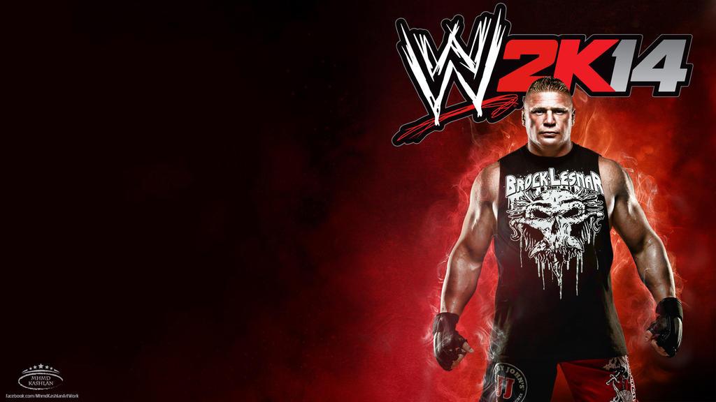 Brock Lesnar WWE 2K14 HD Wallpaper By MhMd Batista