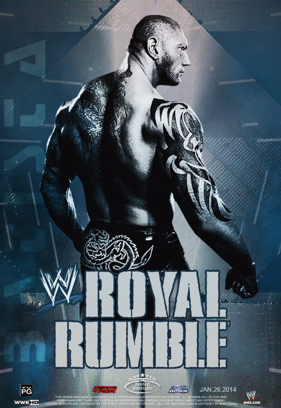 Batista ~ Royal Rumble...