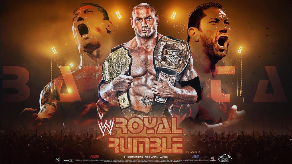 Batista ~ Royal Rumble...