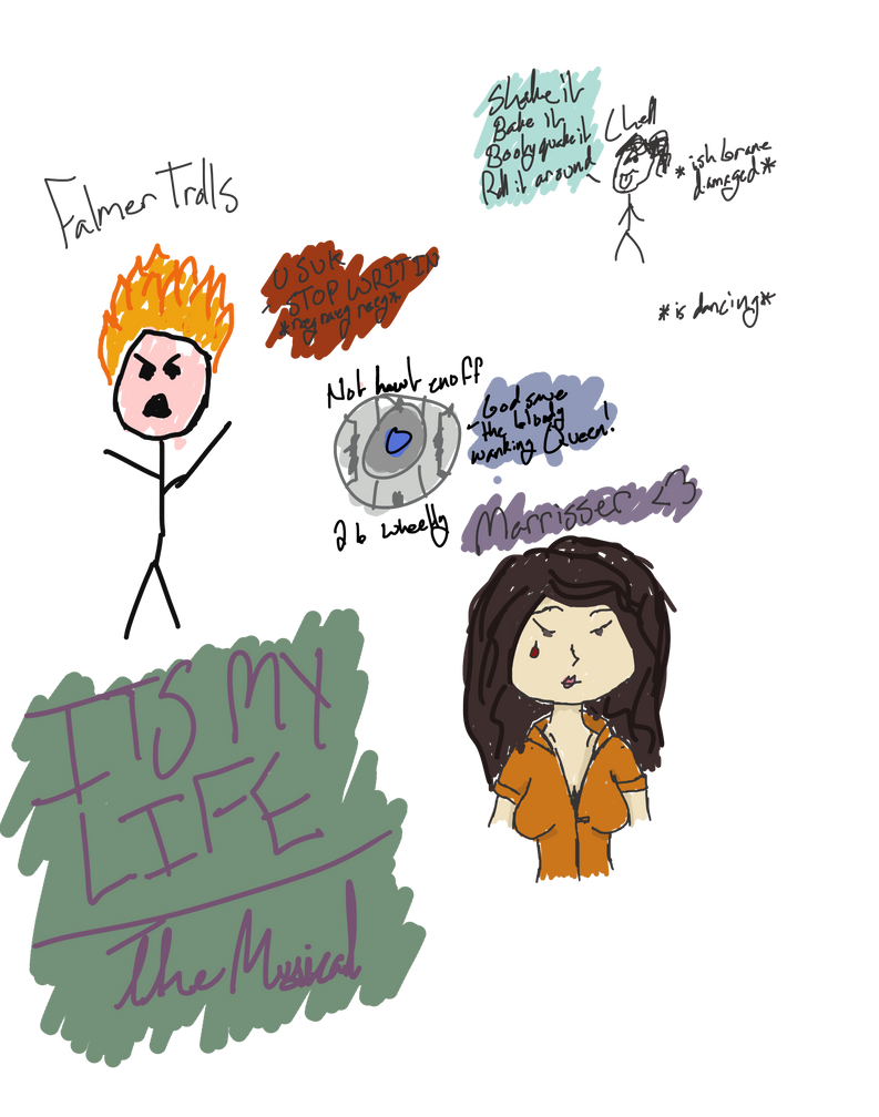 ITS MY LIFE The Musical sketch by ApocalypsePonii