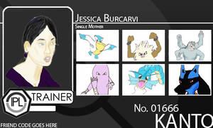 Jessica PL Trainer Card