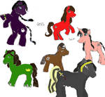 My Little Ponies- Jess' Crew