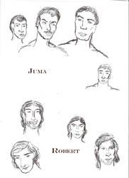 Ls: Robert and Juma by SaffyLailo