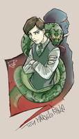 Tom Marvolo Riddle Colors by Robbertopoli