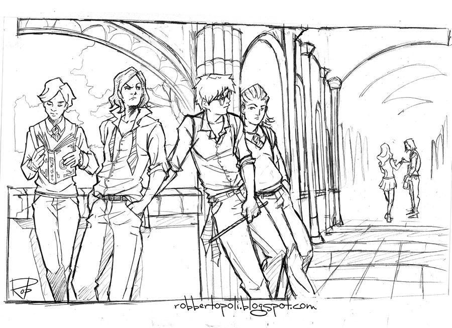 Hogwarts by Robbertopoli
