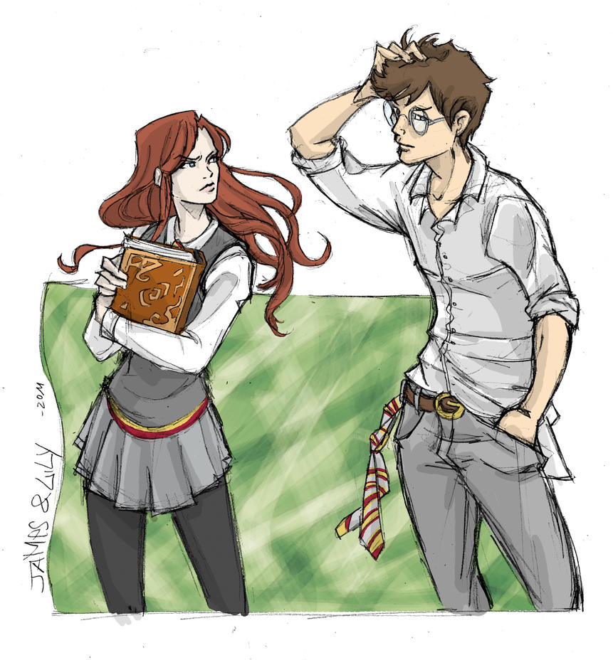 Lily and James by Robbertopoli