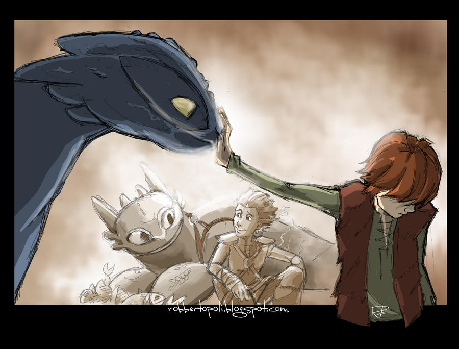 Dragon Trainer by Robbertopoli