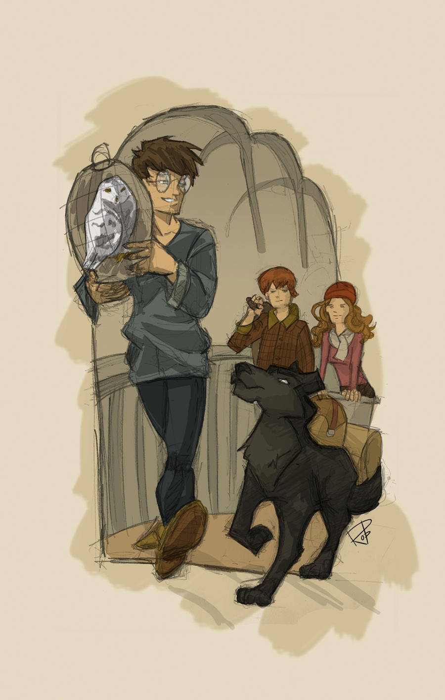 Harry's travel by Robbertopoli
