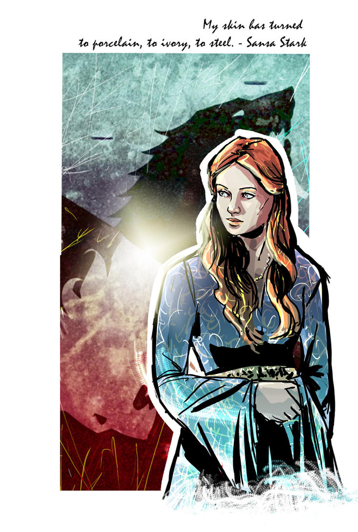 Sansa Stark by Robbertopoli