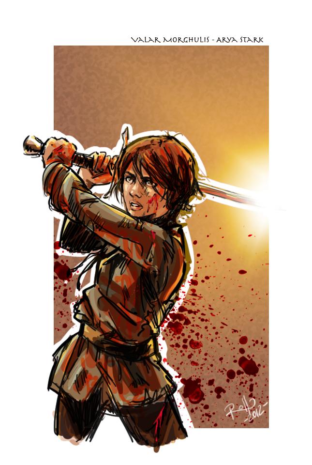 Arya Stark by Robbertopoli