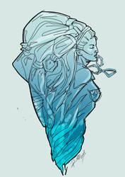 Ice Shiva by Robbertopoli