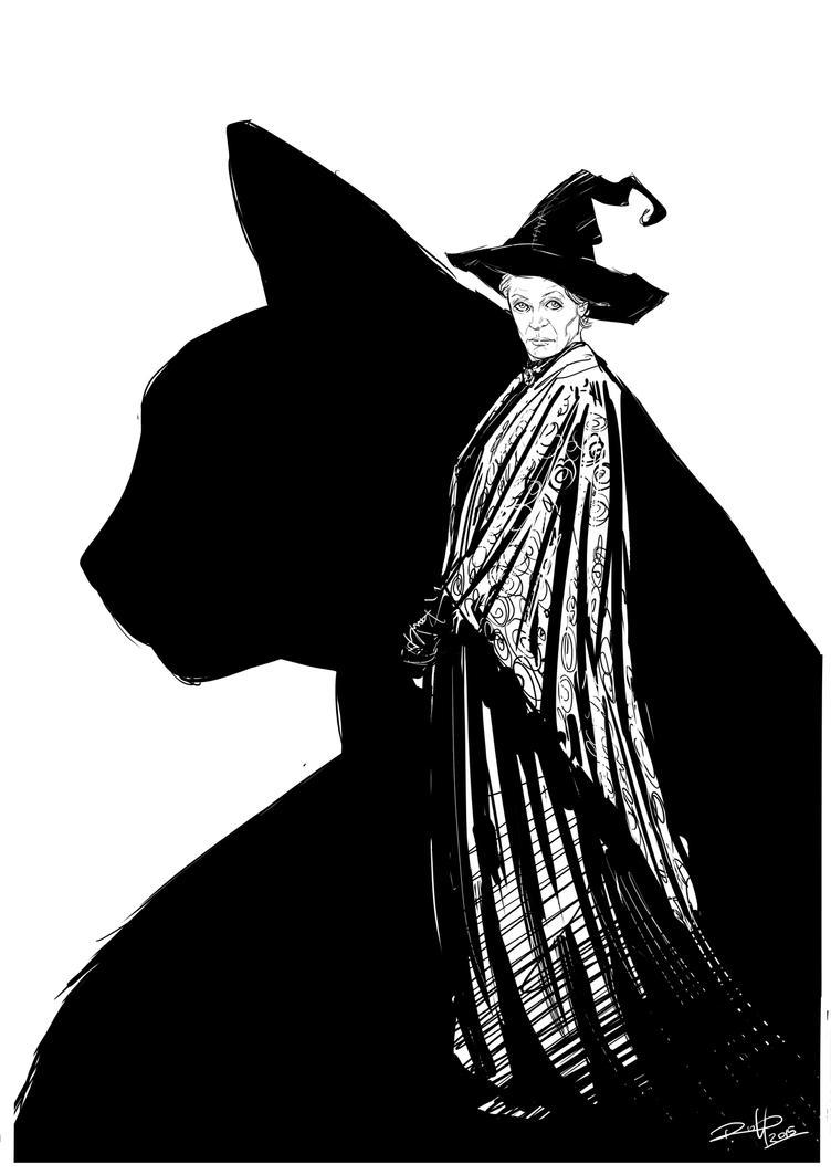 Minerva McGranitt. by Robbertopoli