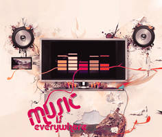 Music is Everywhere by v21ta