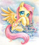 Fluttershy on holiday