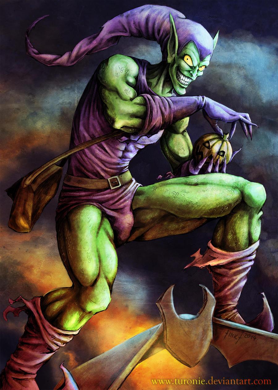 Green Goblin by Turoni...