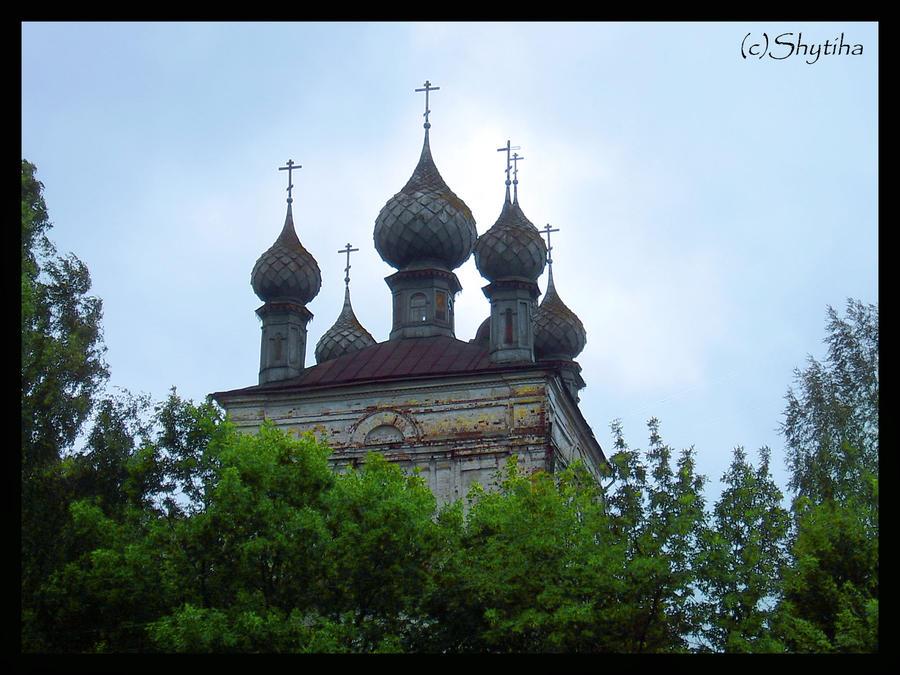Church in Ples. Russia by shytiha