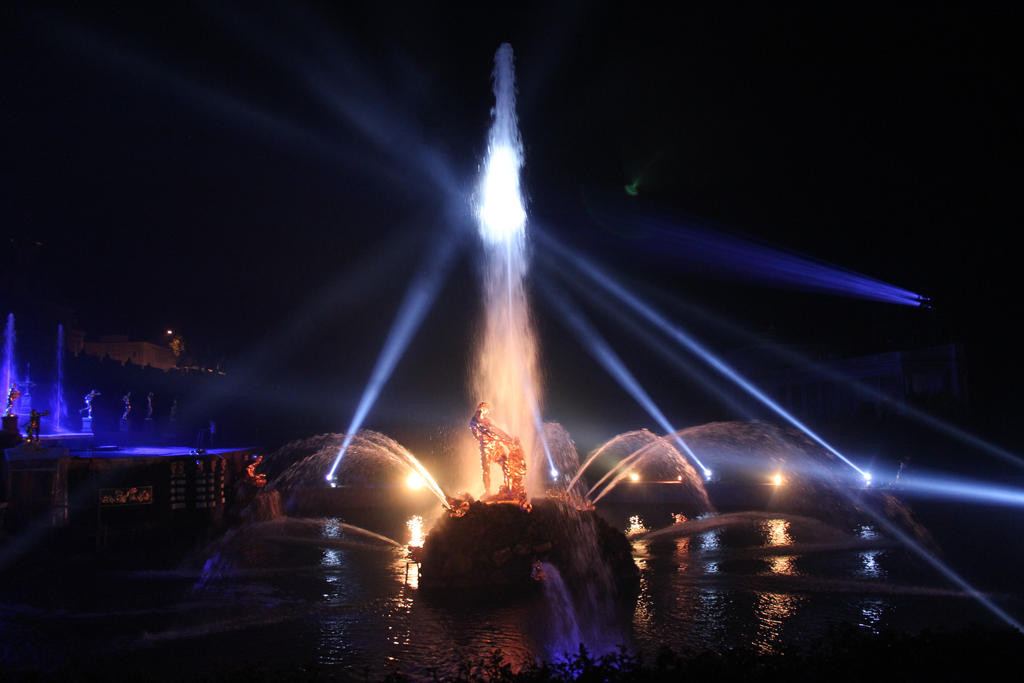 fountain Samson by shytiha