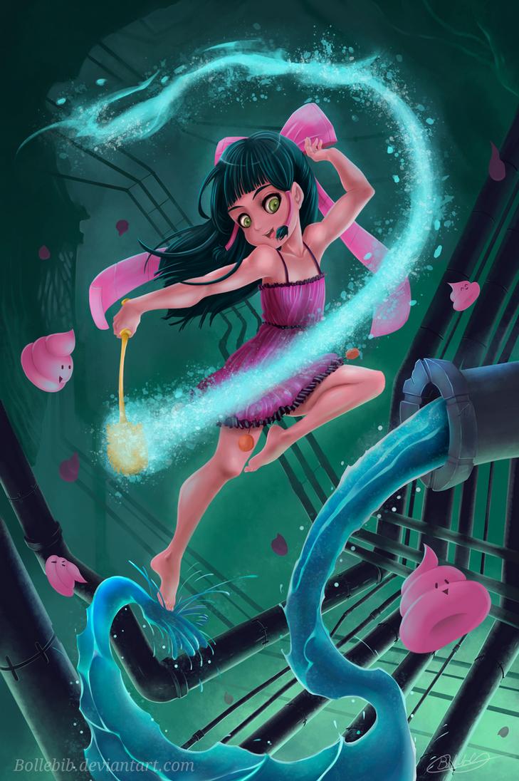 ToiToi-chan ~ Toilet Fairy! by Bollebib
