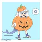 Pumpkin Gura (Patreon Reward)