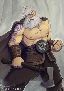 Hagnar The Viking (Commission)