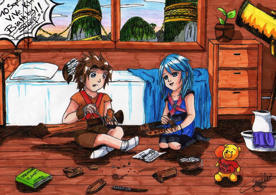 Terra and Aqua kids by SailorMiha on DeviantArtTerra And Aqua