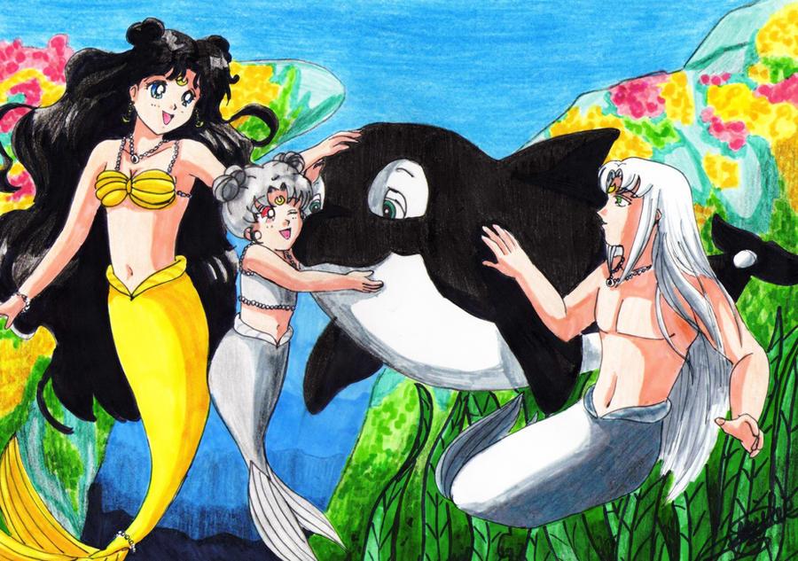 Luna,Diana, Artemis, Spot by SailorMiha