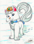 Palace Pets of Elsa: Ice, the wolf