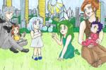 Ayakashi Family by SailorMiha