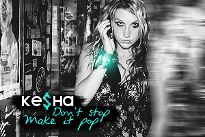 Ke$ha Black n White by FightTheCarrot
