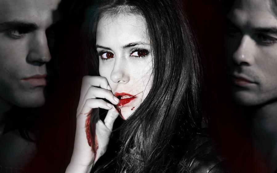 wallpaper vampire diaries. Vampire Diaries Wallpaper by