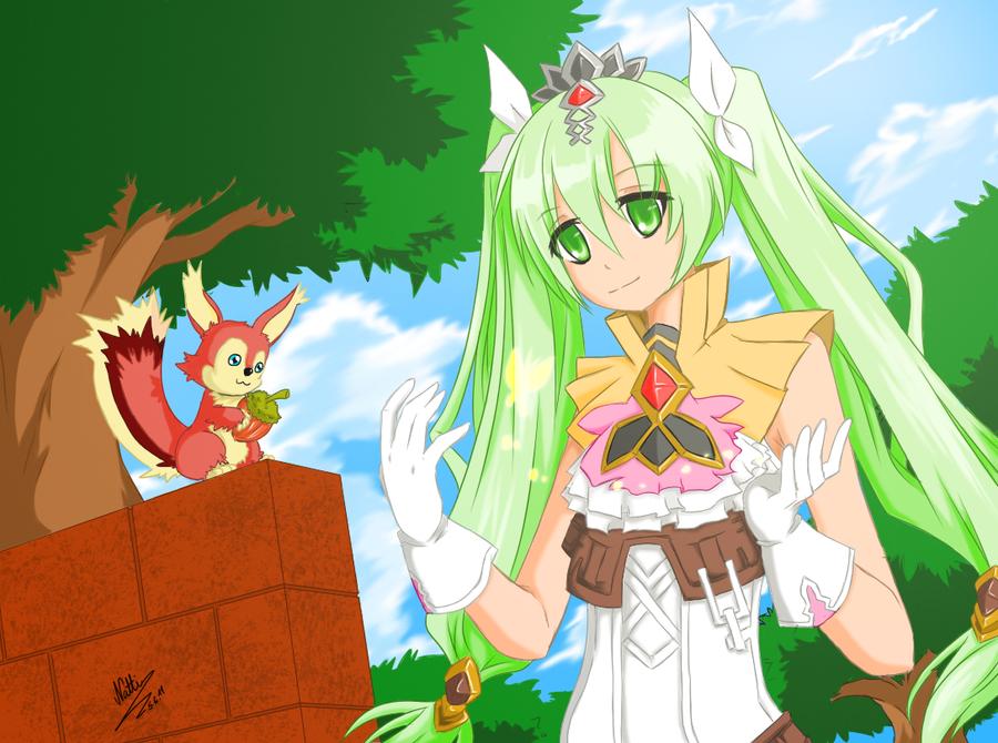 Rune Factory 4 - Frey by KaitoAsakura