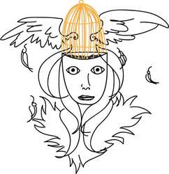 Angel Head by Enciopath