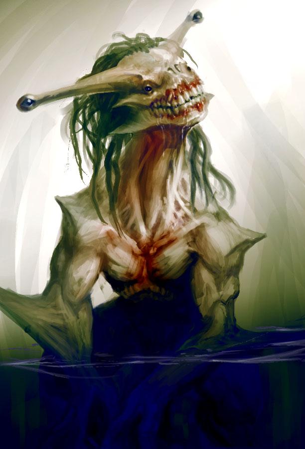 Creature sketch by 2wenty