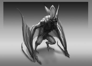 Bat Creature Design by 2wenty