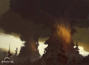 Avus and Avia, The World Trees