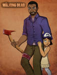 TWDG ~ Lee and Clementine