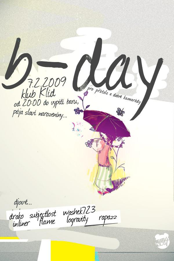 B-day by rawenien