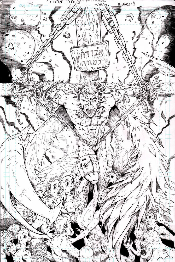 Spawn 250 contest inks by BrandonBlanks