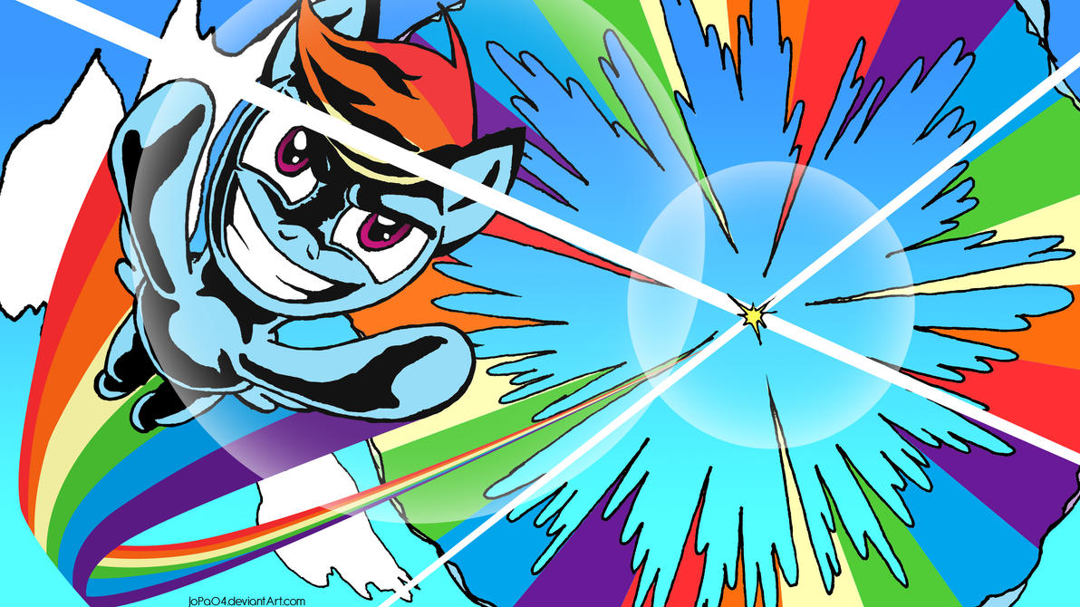 Rainbow Dash by JoPa04