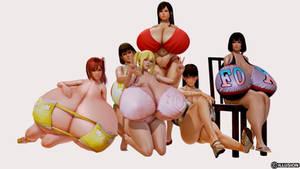 Dead or Alive Bikini girls 2 by Legendofthewind22