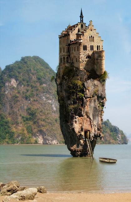 Dream House by oilcorner