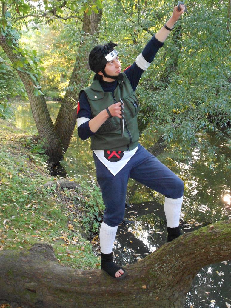 Naruto Shippuuden - Asuma - Victory! by Mada-Chan2009