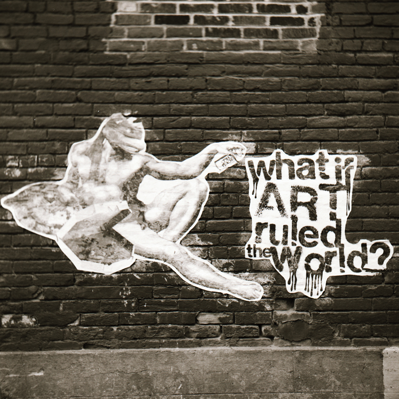 What if art ruled the world by cameraflou